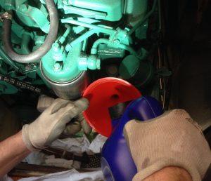 Tagliando motore barca